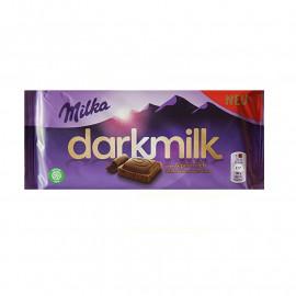 Шоколад Milka Darkmilk 90гр(плитка)
