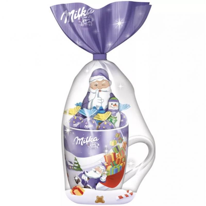 Подарочный набор Милка (кружка + шоколад) УЦЕННЕНЫЙ ТОВАР