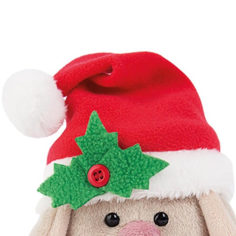 Мягкая игрушка Зайка Ми в красном колпачке и шарфе