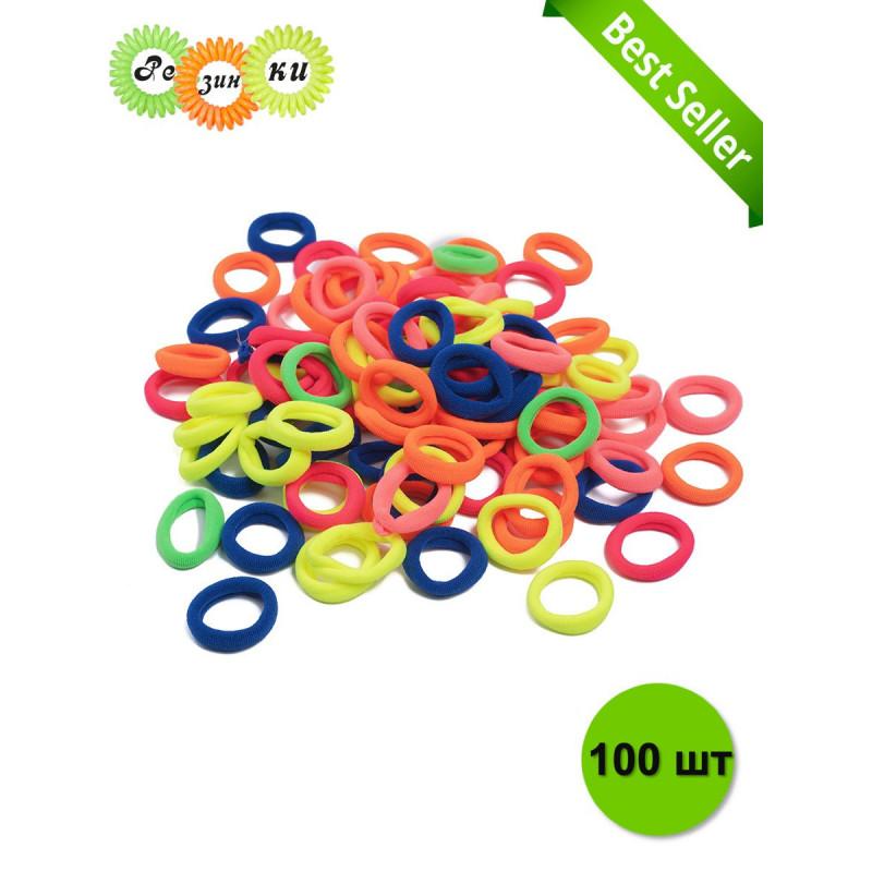 Резинки / Резинка для волос (d-2,5 см), набор 100 шт.