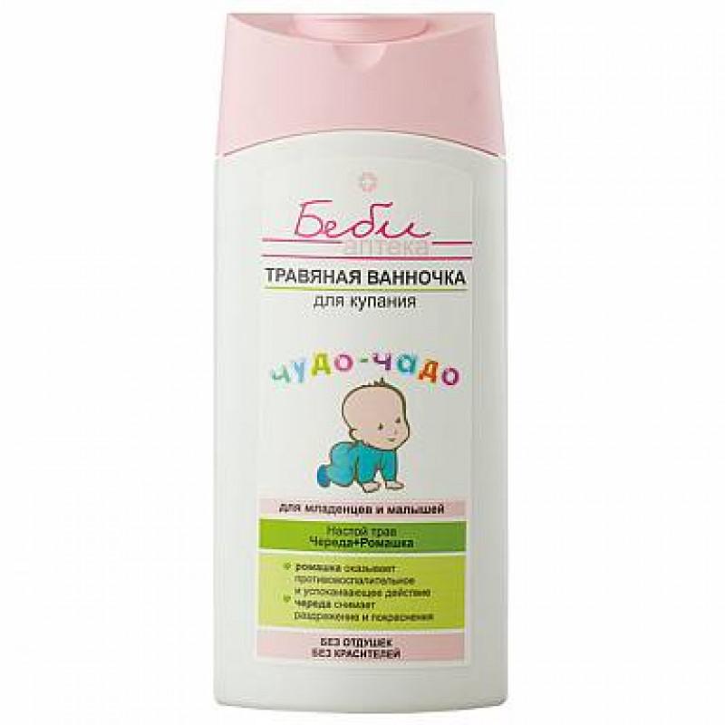 БЕБИ аптека чудо-чадо Травяная ванночка для купания для младенцев и малышей, 250мл 4810153022400 SALE