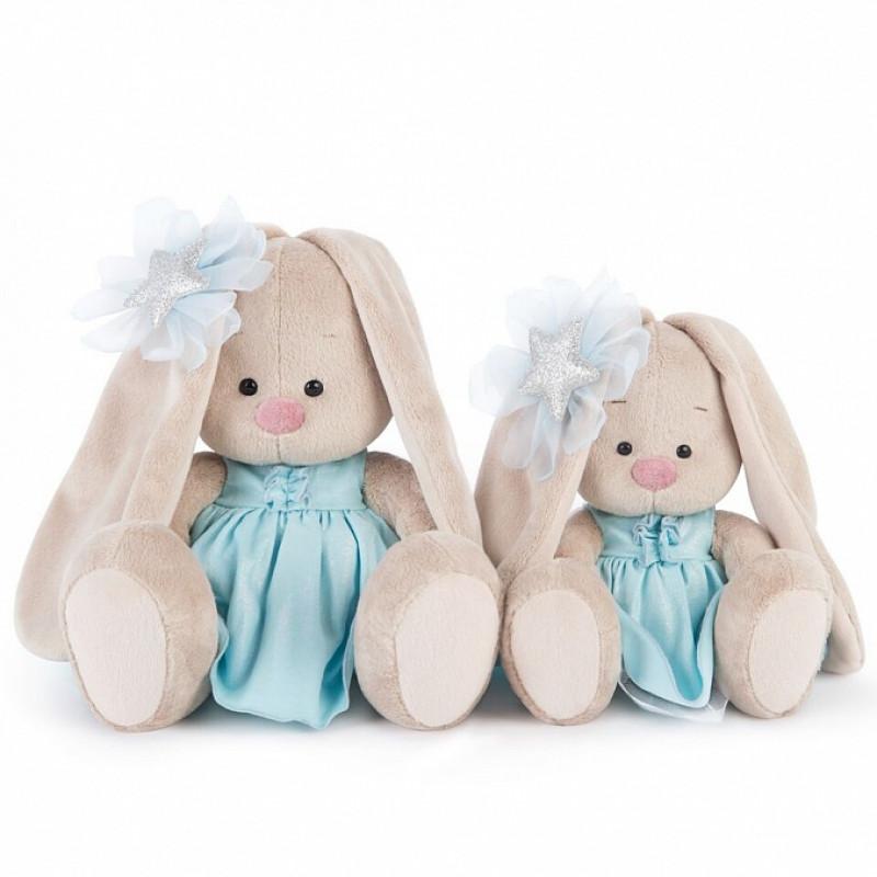 Мягкая игрушка «Зайка в голубом платье со звездой» (малыш) Budi Basa