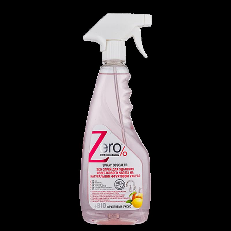 ZERO спрей для удаления известкового налета 450 мл (фруктовый уксус)