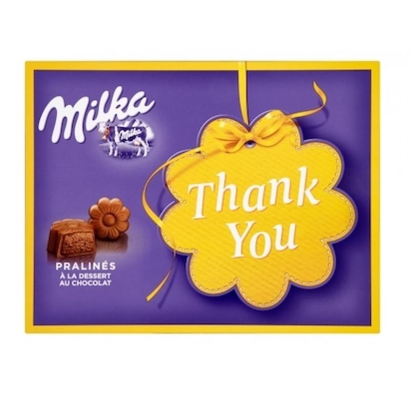 """Подарочный набор шоколада Милка """"Thank You"""", 120гр."""