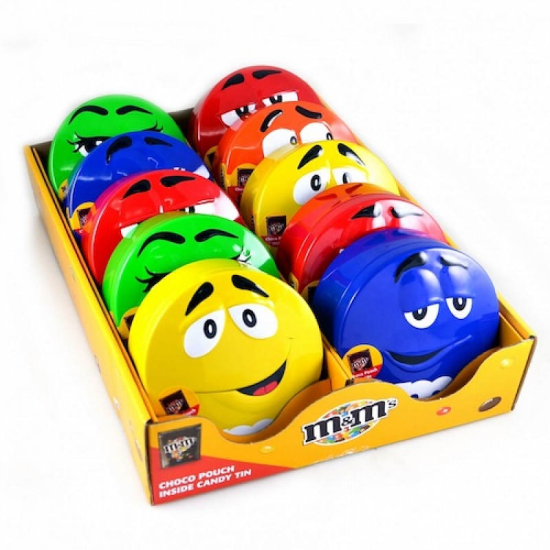 M&M's Candy Tin зеленая 200 г