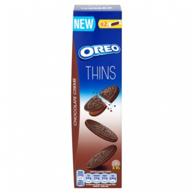 Oreo Crispy & Thin (Печенье С Шоколадным Кремом) 96гр. УЦЕНЕННЫЙ ТОВАР
