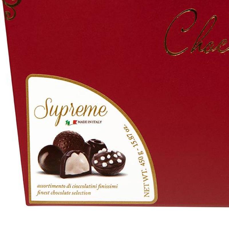 Набор Шоколадных Конфет La Suissa (красный) 450гр SALE