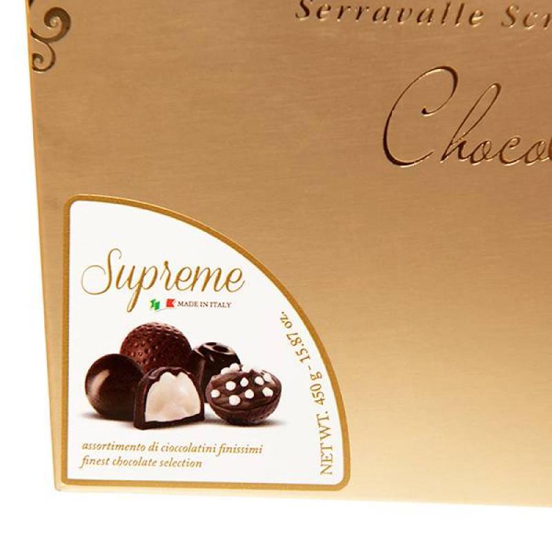 Набор Шоколадных Конфет La Suissa (золотой) 450гр