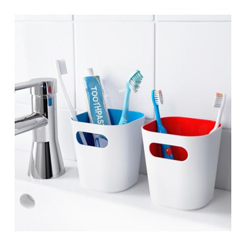 Стаканы для зубных щеток, 2 шт 10369568