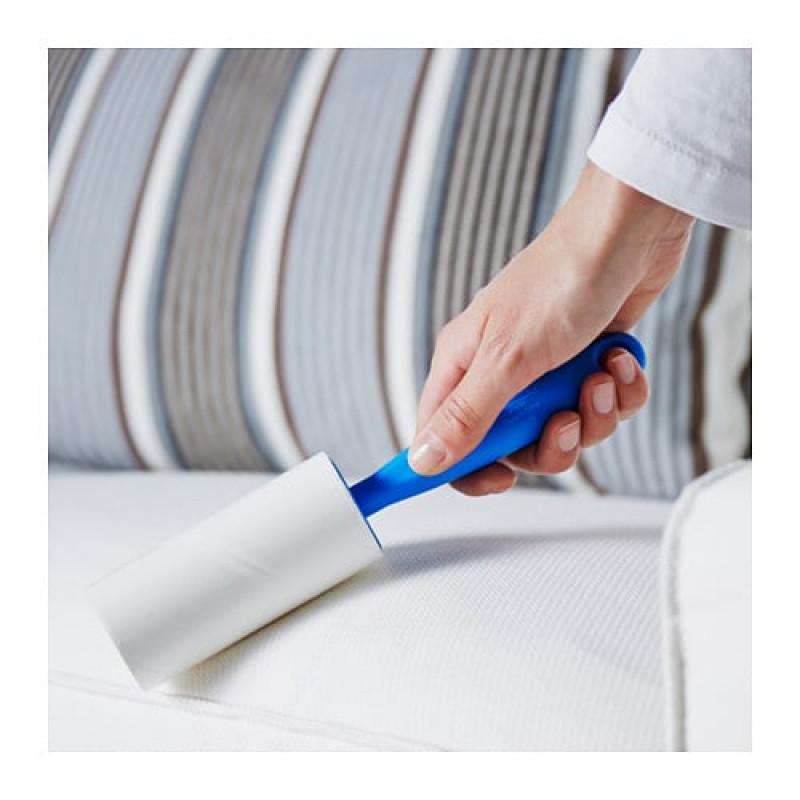 Чистящий ролик с синей ручкой 20375432