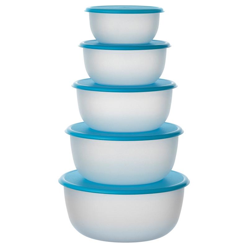 Набор контейнеров для хранения продуктов 5 шт, круглый  70246471