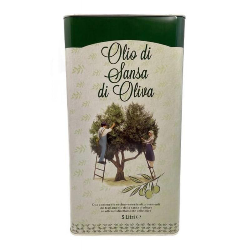 Масло оливковое VesuVio Sansa di Oliva, 5 л ( Италия)