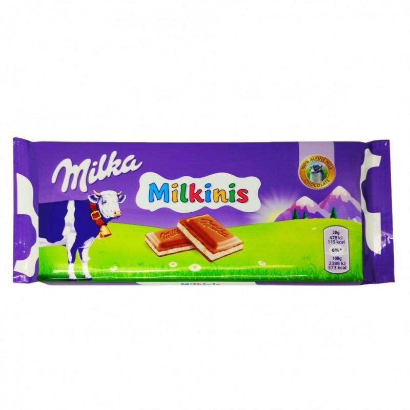 Шоколад Milka Milkinis 100гр УЦЕНЕННЫЙ ТОВАР