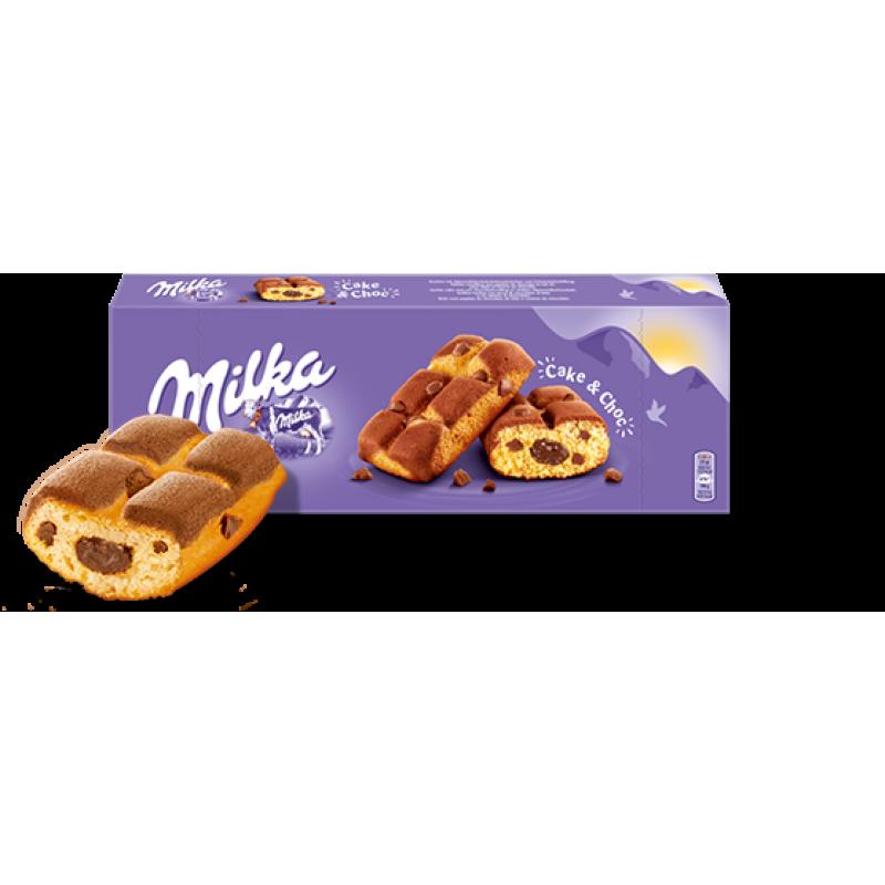 Бисквит Milka Cake & Choc 175гр УЦЕНЕННЫЙ ТОВАР