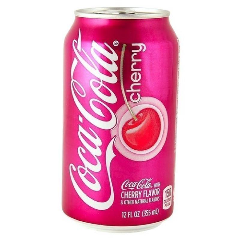 Coca Cola Cherry 355мл УЦЕНЕННЫЙ ТОВАР
