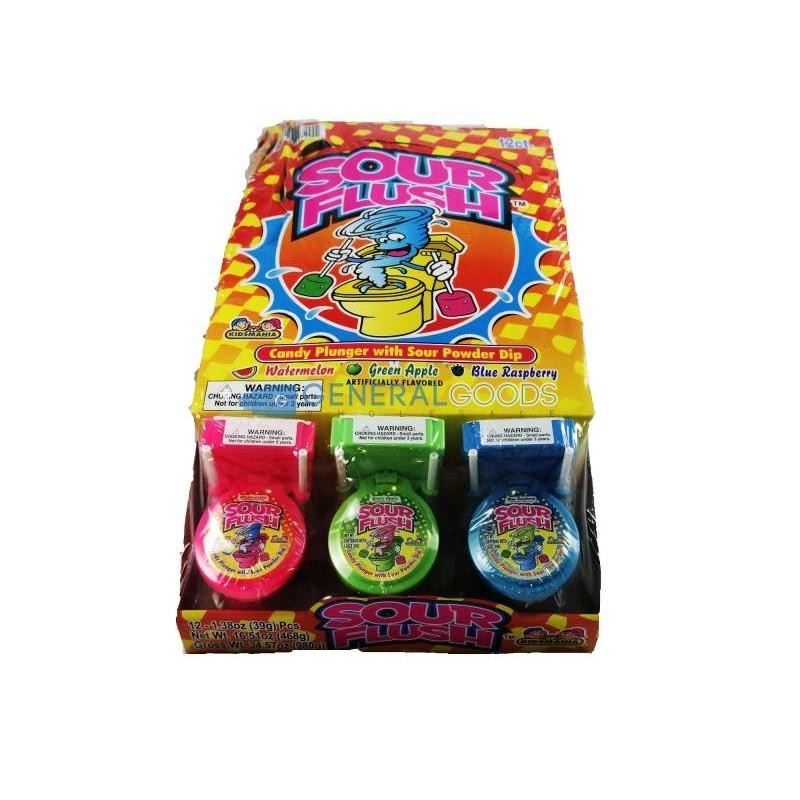 Kidsmania Унитазик Большой Леденцовая карамель с игрушкой 39гр SALE