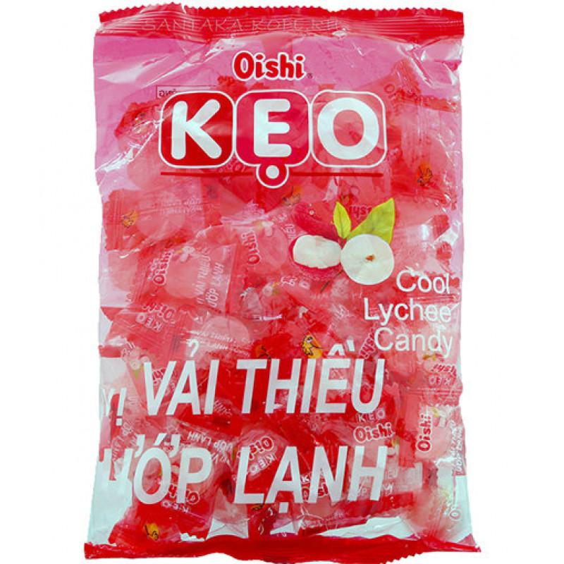 Конфеты леденцы Oishi KEO со вкусом личи  90г Вьетнам