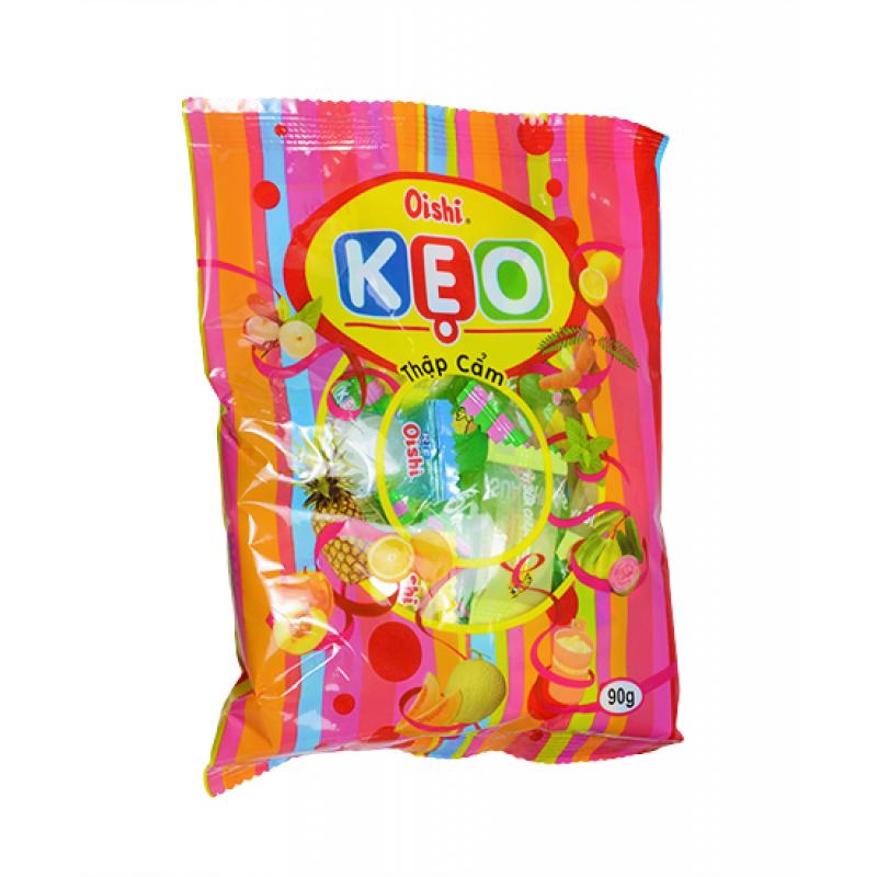 Конфеты леденцы Oishi KEO Ассорти  90г Вьетнам