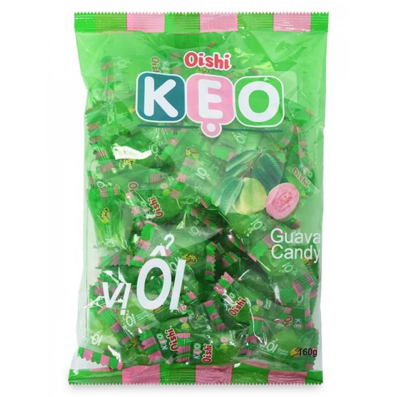 Конфеты леденцы Oishi KEO со вкусом Гуавы 90г Вьетнам