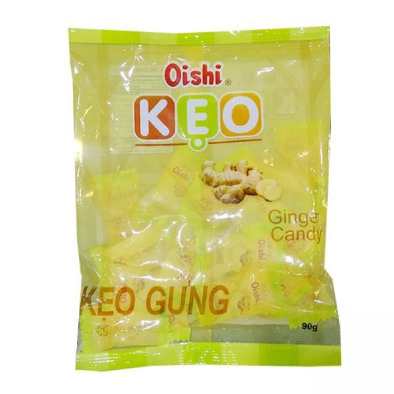 Конфеты леденцы Oishi KEO со вкусом Имбиря 90г Вьетнам