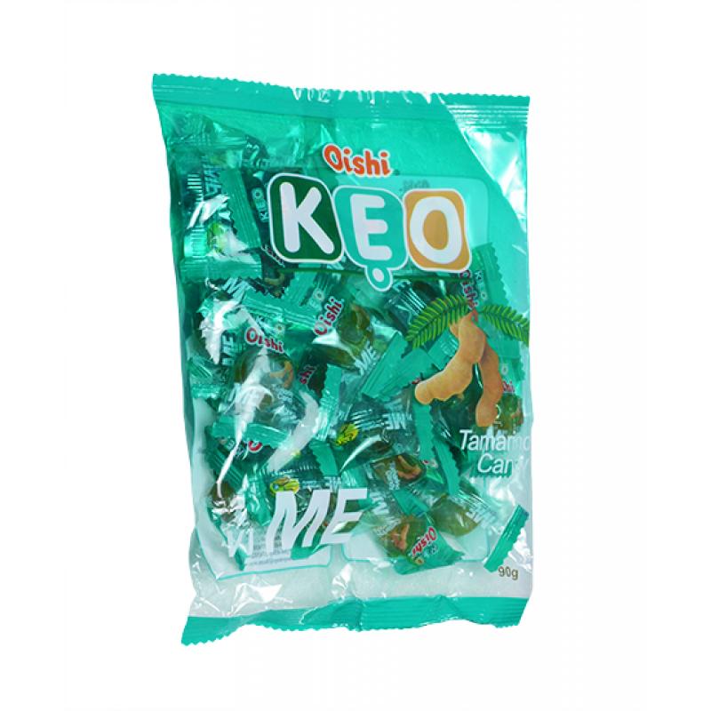 Конфеты леденцы Oishi KEO со вкусом Тамаринда 90г Вьетнам