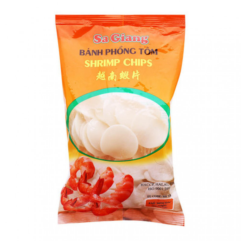 Креветочные чипсы Sa Giang 200гр Вьетнам
