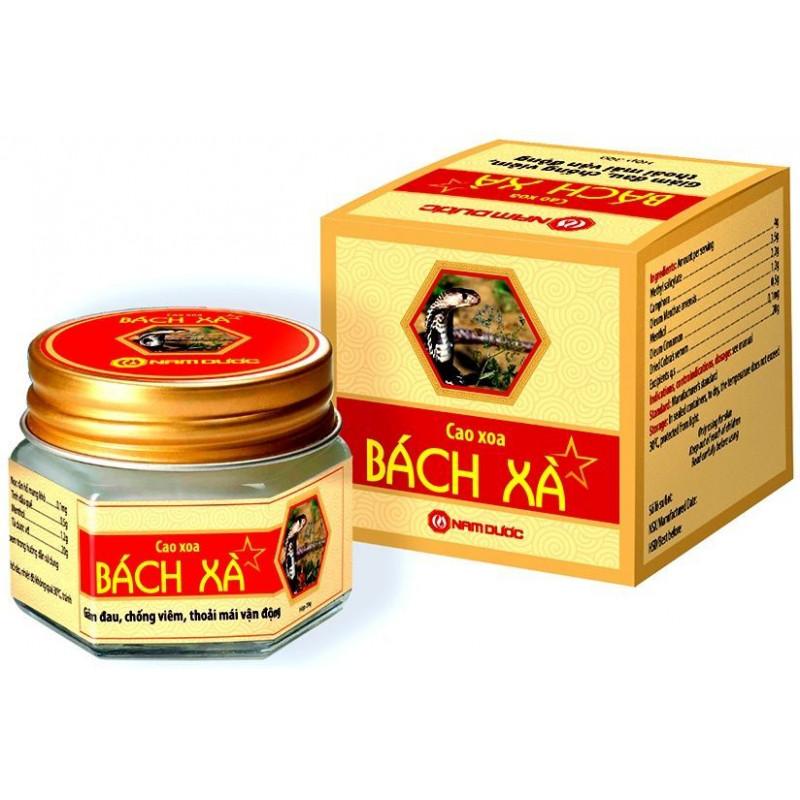 Мазь Cao Xoa Bach Xa с ядом кобры 20 гр