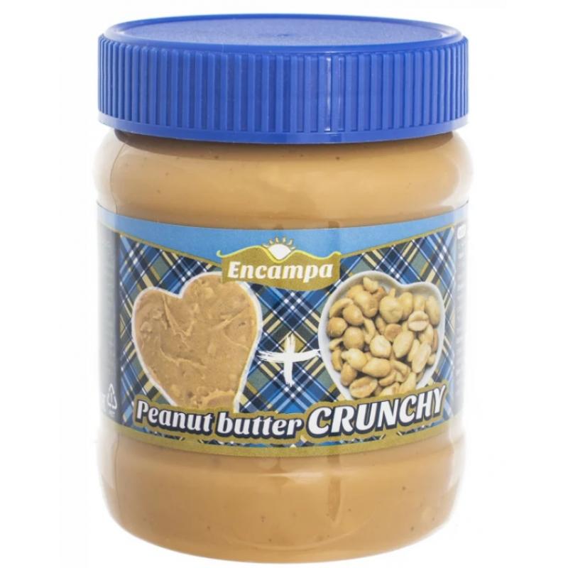Арахисовая паста Encampa Peanut Butter Crunchy 340гр