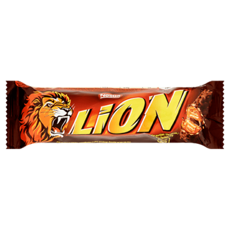 Nestle Lion шоколадно-карамельный батончик 42гр