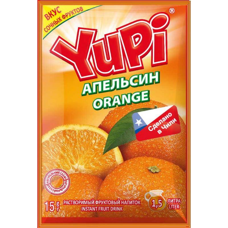 YUPI Апельсин 15г