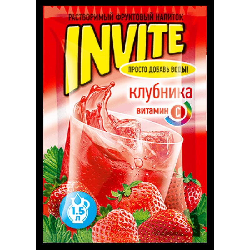 Invite Клубника 9г