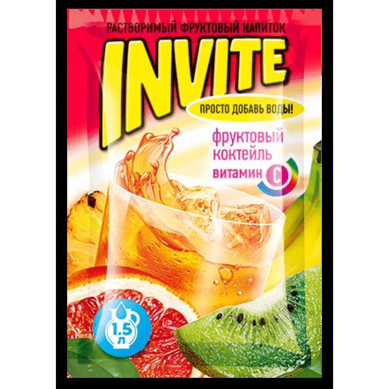 Invite Фруктовый коктейль 9г