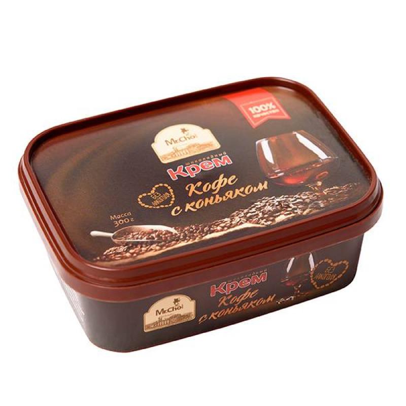 """Шоколадный крем """"Кофе с коньяком"""" 300 грамм"""
