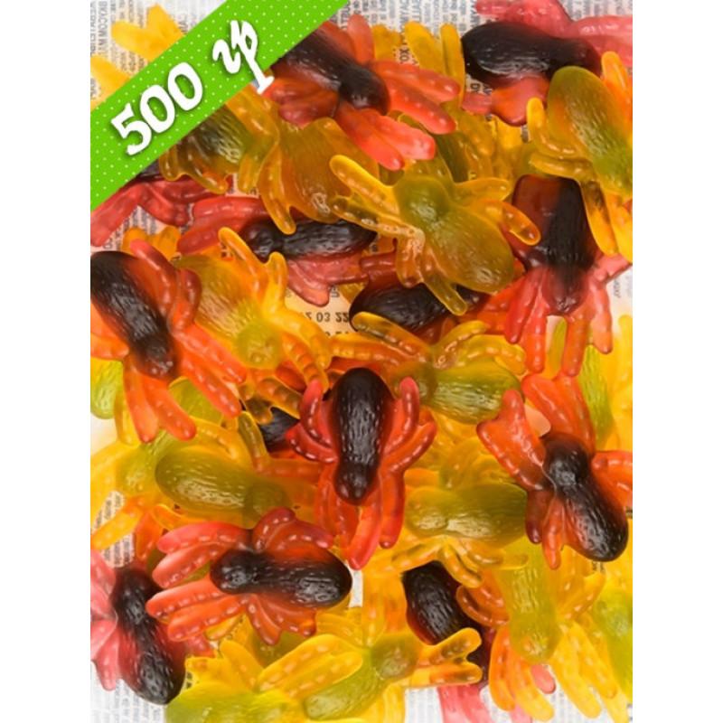 KDV / Сочный жевательный мармелад,  Паучки  500 гр.