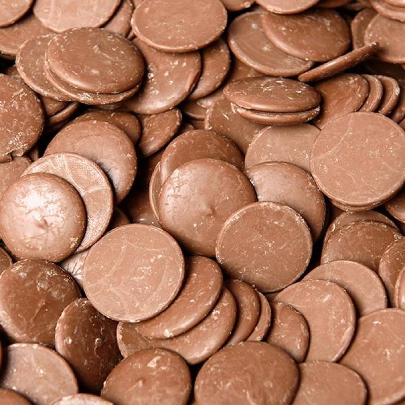 Шоколад молочный в каплях 31,5 процентов с/к СН-25IN   20кг