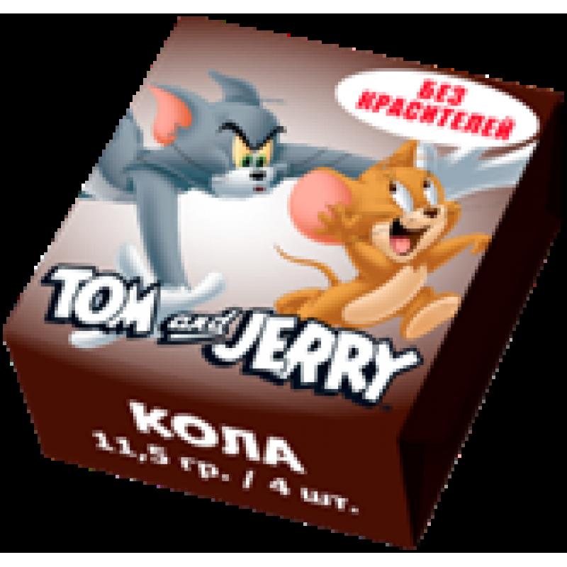 Tom and Jerry конфеты жевательные со вкусом Колы 20 уп 250гр SALE