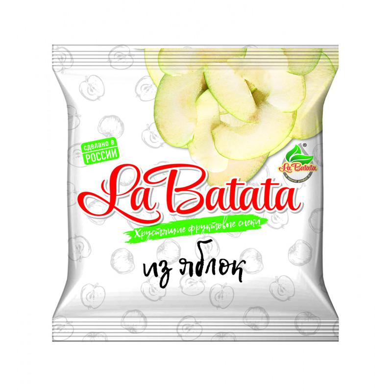 Хрустящие фруктовые снеки из Яблок 25 гр(пакет) Уцененный товар SALE