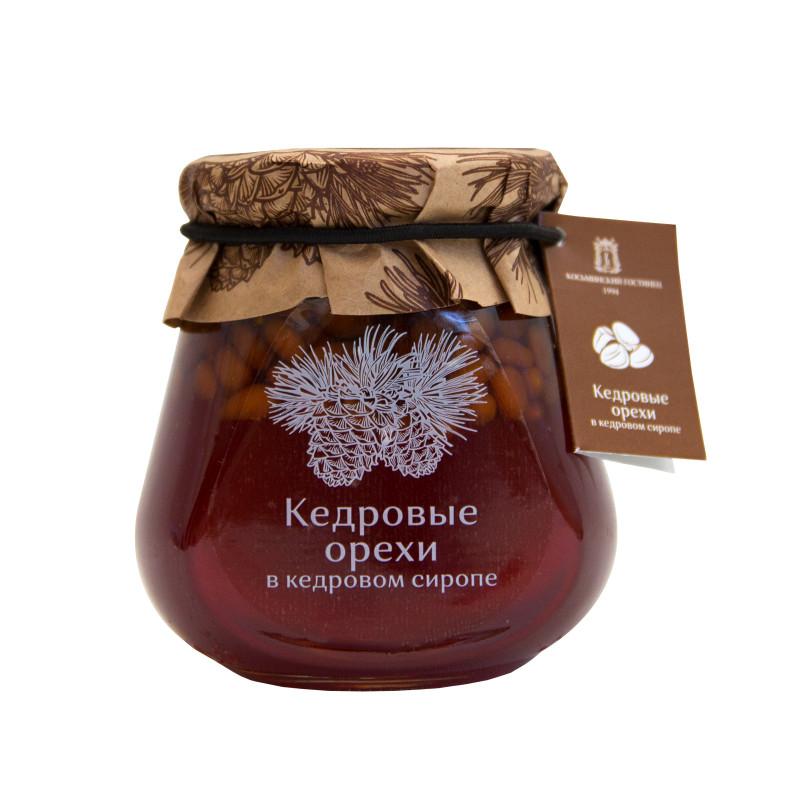 Варенье кедровые орехи в кедровом сиропе 290  гр SALE