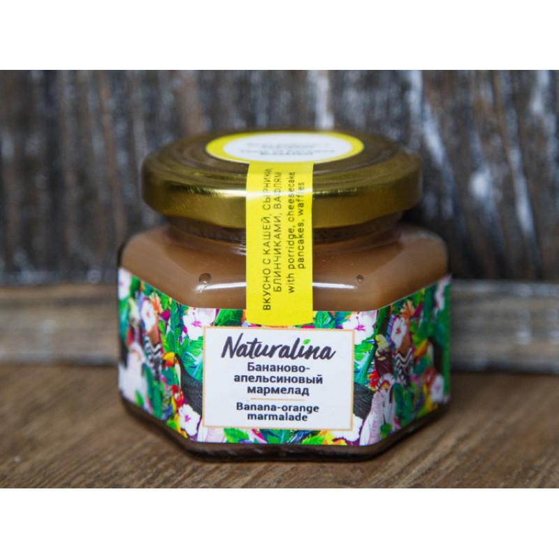 Naturalina Бананово-апельсиновый мармелад, 100 г SALE