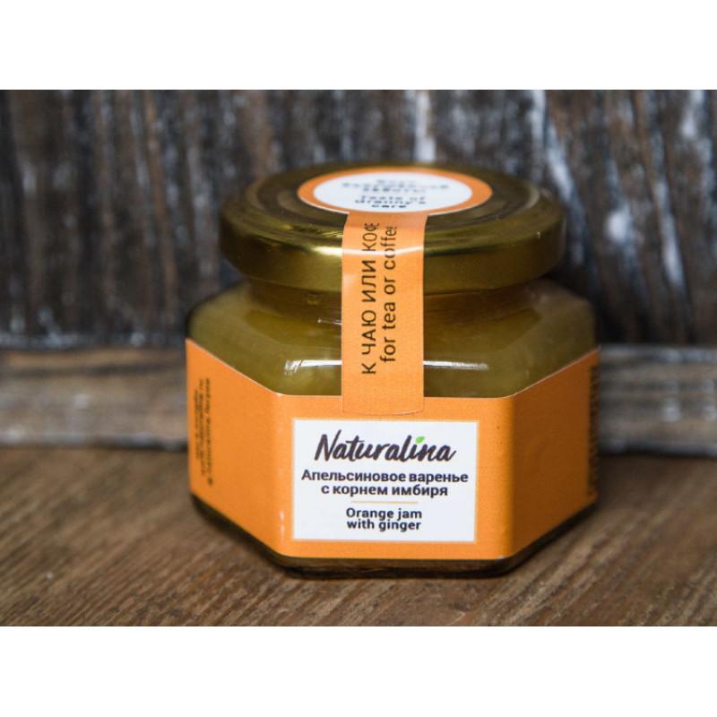 Naturalina Апельсиновое варенье с имбирем, к утке 100 г SALE