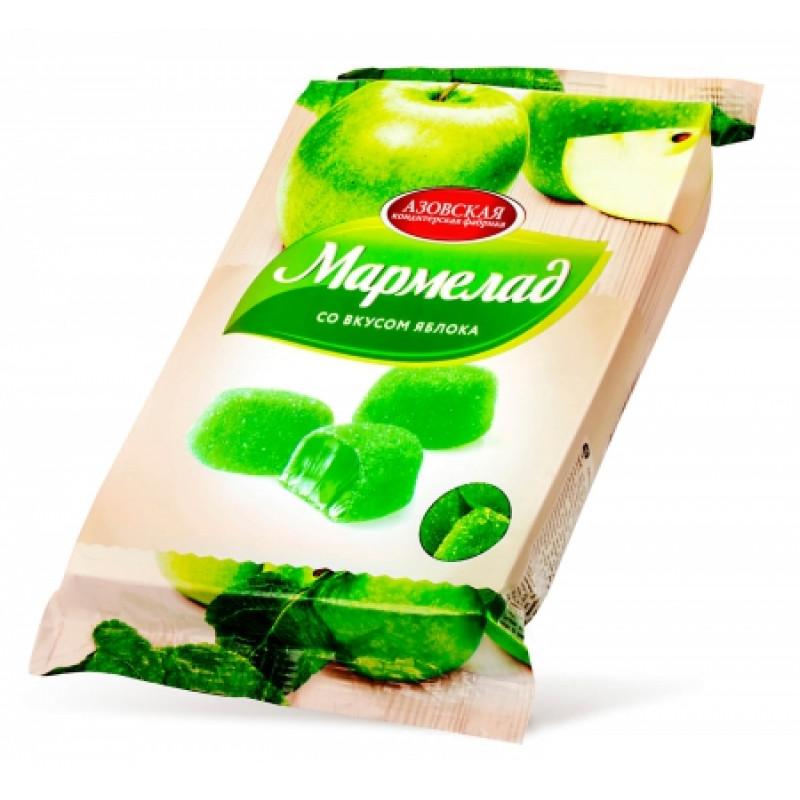 "Мармелад желейный со вкусом ""Зеленого Яблока"" 300гр"