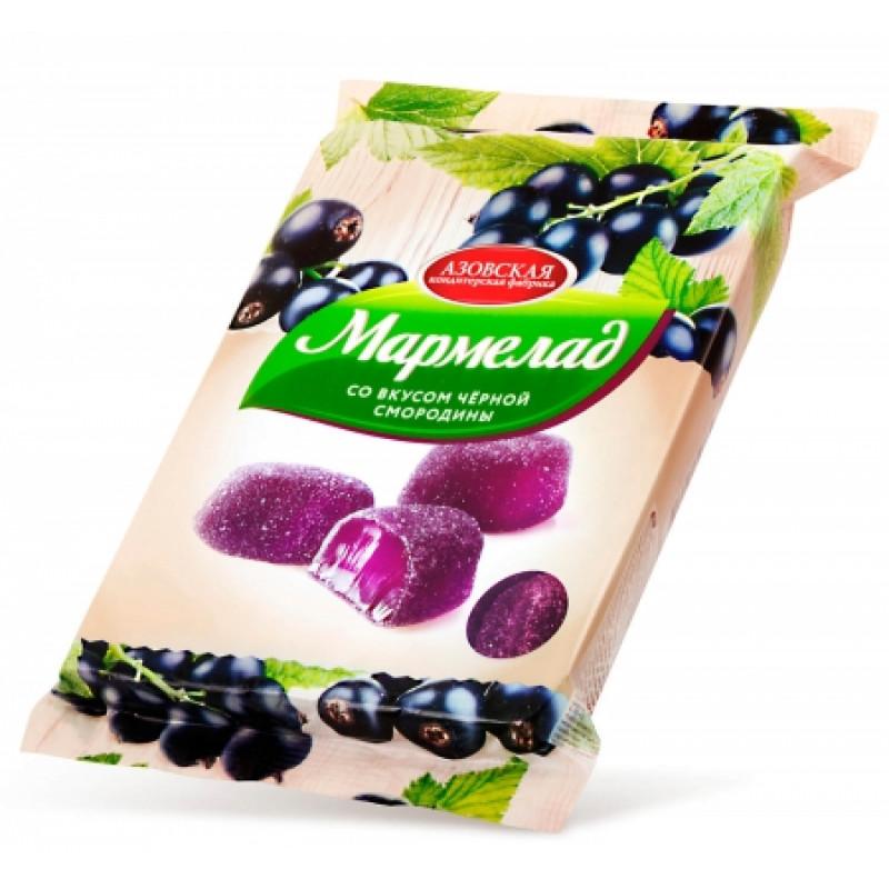 """Мармелад желейный со вкусом """"Черной смородины"""" 300гр"""