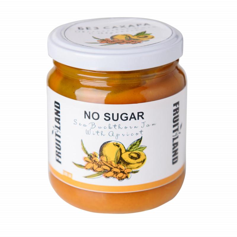 Джем облепиховый с абрикосом без сахара (Армения) 300 гр
