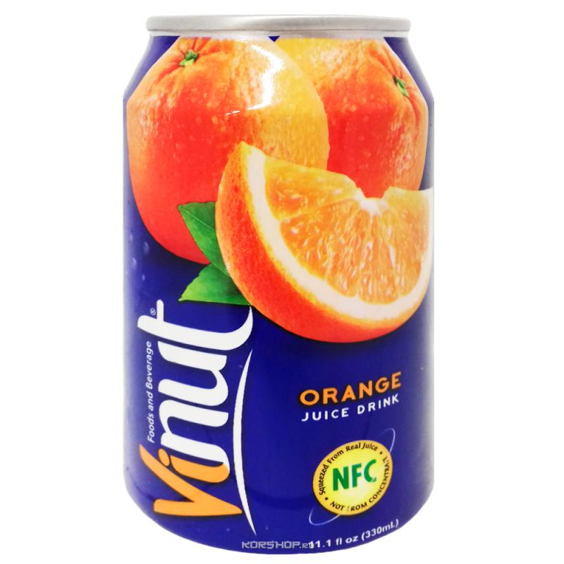 Сок Апельсина (напиток Vinut) 330 мл