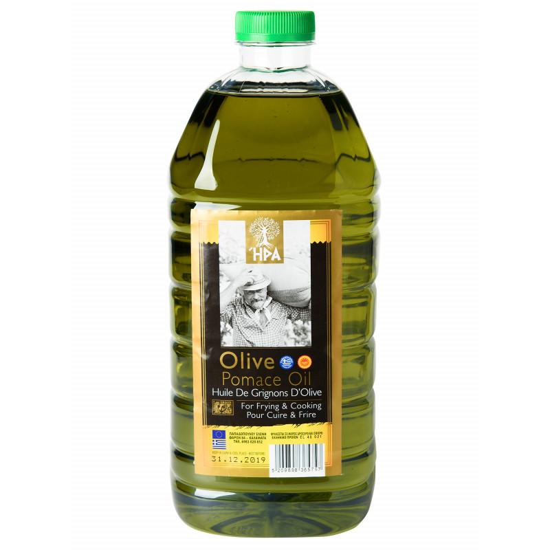 Оливковое масло для жарки HPA Olive Pomace Oil  2л  ( Греция)