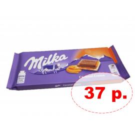 Milka Шоколад Caramel Creme 100гр УЦЕНЕННЫЙ ТОВАР