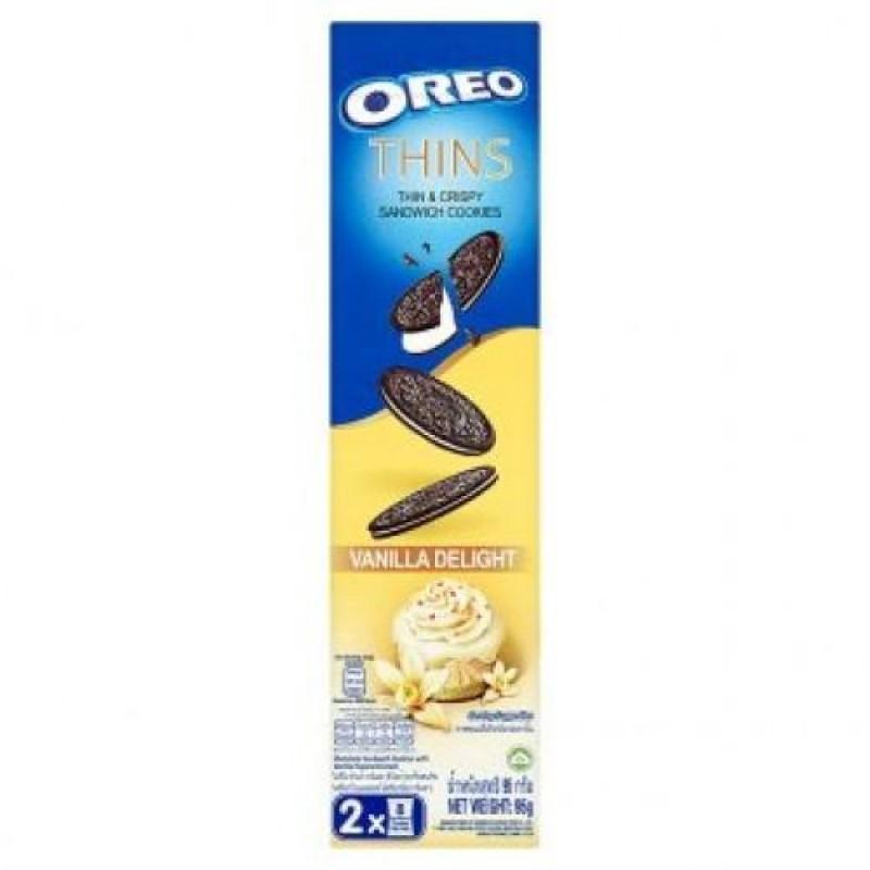 ОRЕО печенье Thin Vanilla Delight 95г УЦЕНЕННЫЙ ТОВАР