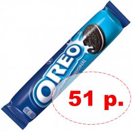 Oreo Original классическое оригинальное печенье с ванильной начинкой 154 грамма УЦЕНЕННЫЙ ТОВАР