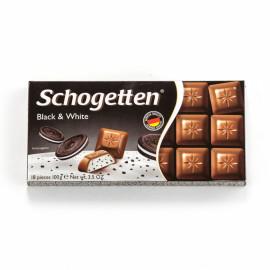 Шоколад Schogetten BLAСK & WHITE 100 ГР