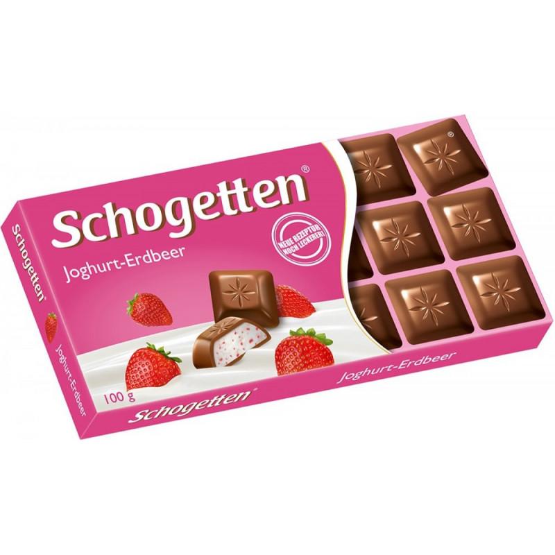 Шоколад Schogetten Yogurt-Strawberry  100 ГР